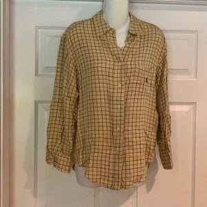Ralph Lauren buttoned down long sleeve top